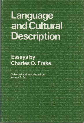 LANGUAGE AND CULTURAL DESCRIPTION