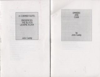 "Four Self-Published Chapbooks, ""For Private Circulation Only""]: EMBERS AND CHAR [,] WOMAN..."