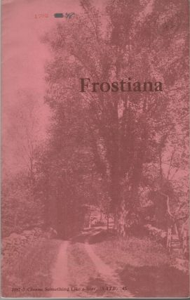 FROSTIANA: Seven Country Songs for Men's Women's and Mixed Voices with Piano Accompaniment