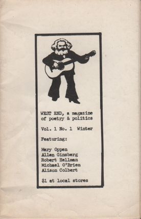 WEST END: A Magazine of Poetry & Politics - Vol. 1 No. 1 Winter 1971