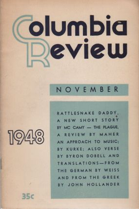 COLUMBIA REVIEW - Vol. 28 No. 5 - November 1948