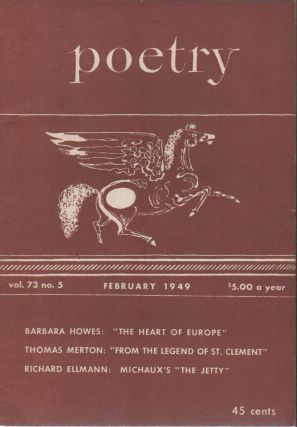 POETRY - Vol. 73 No. 5 - February 1949