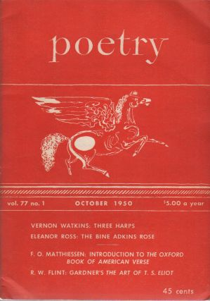 POETRY - Vol. 77 No. 1 - October 1950