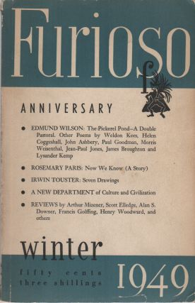 FURIOSO - Vol. 4 No. 1 - Winter 1949