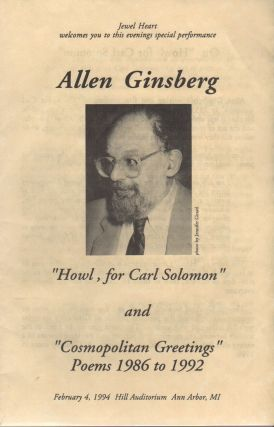 Program for a 1994 Reading