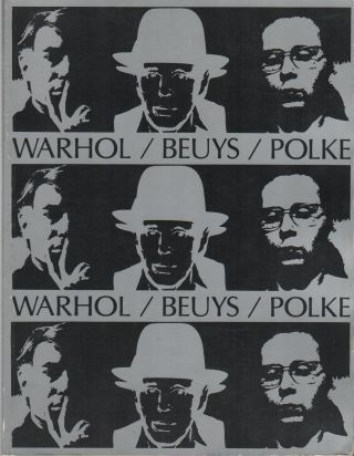 WARHOL / BEUYS / POLKE. Russell BOWMAN, Donald Kuspit