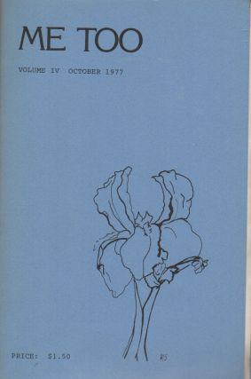 ME TOO: A Poetry Magazine - Volume IV - October 1977
