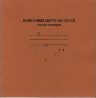 BOUNDARIES LIMITS AND SPACE: Concrete Poems. Sh nt BASMAJIAN, u