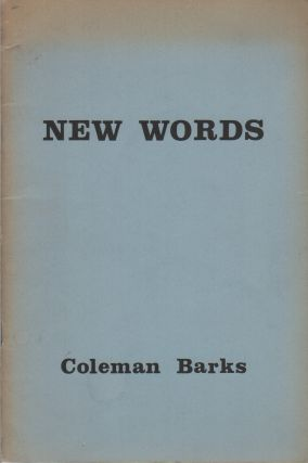 NEW WORDS. Coleman BARKS