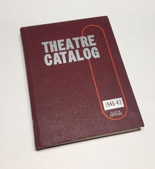 THEATRE CATALOG: 1946-47. Film, Jay EMANUEL