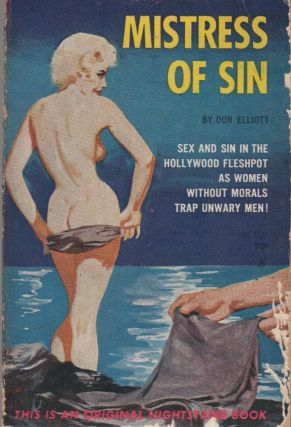 MISTRESS OF SIN. Don ELLIOTT