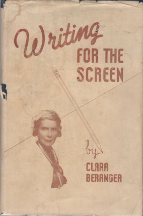 WRITING FOR THE SCREEN. Clara BERANGER