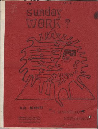 SUNDAY WORK? bill bissett