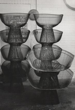 Production Archive of Knoll Designs from Olga Gueft]. Design, Knoll