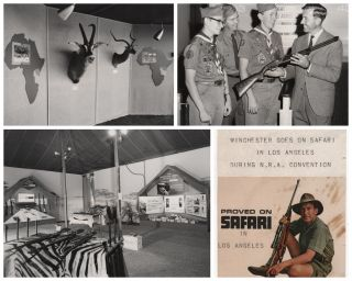 "Winchester Rifle 1964 N.R.A. Convention Scrapbook: ""Proved on Safari"""