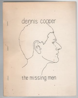 THE MISSING MEN. Dennis COOPER
