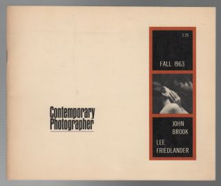 CONTEMPORARY PHOTOGRAPHER - FALL 1963 VOL IV NO. 4