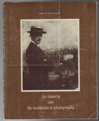 AN INQUIRY INTO THE AESTHETICS OF PHOTOGRAPHY [artscanada December 1974 issues 192/193/194/195