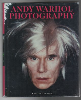 ANDY WARHOL: PHOTOGRAPHY. Andy WARHOL, Christoph Heinrich