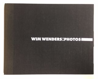 WIM WENDERS: PHOTOS
