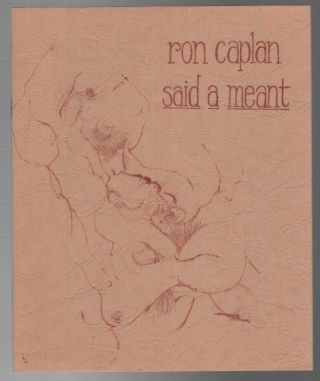 SAID A MEANT. Ron CAPLAN