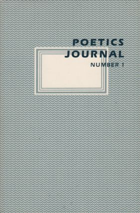 POETICS JOURNAL Nos. 1-10 [Complete Run