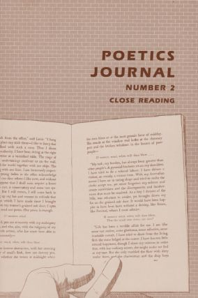 POETICS JOURNAL Nos. 1-10 [Complete Run]