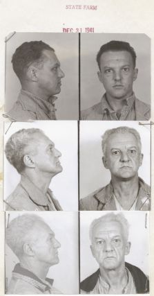 Archive of Parole Documents, Mug Shots of Defective Delinquent Prisoners