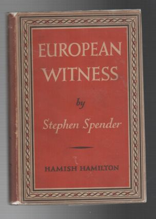 EUROPEAN WITNESS