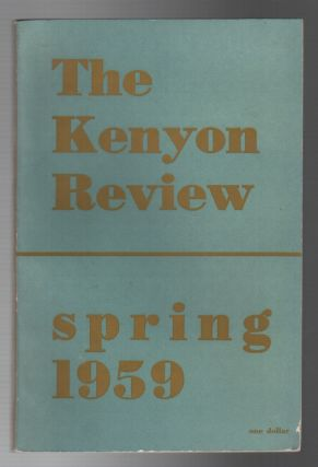 THE KENYON REVIEW: Vol. 21 No. 2 / Spring 1959