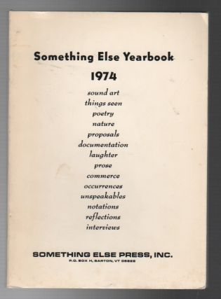 SOMETHING ELSE YEARBOOK 1974. Jan HERMAN