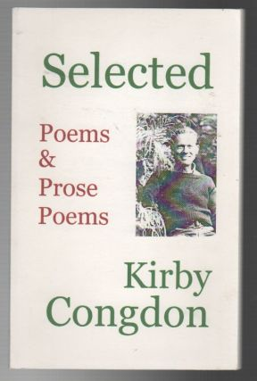 SELECTED POEMS & PROSE POEMS