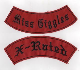 ['O'Mens Motorcycle Club Patches]