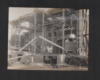 Original Photo Album of a Sugar Refinery Construction