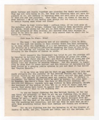 [Archive of Letters to Evacuated Children in World War II]