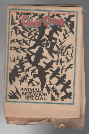CLEAR CREEK: Animal Behavior Special / The Environmental Viewpoint No. 8 November 1971