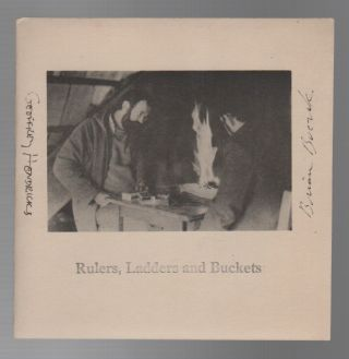 RULERS, LADDERS AND BUCKETS. Geoffrey HENDRICKS, Brian Buczak