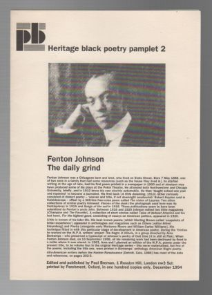 HERITAGE BLACK POETRY PAMPHLET 2 / HERITAGE BLACK POETRY PAMPHLET 7 [Set of 2