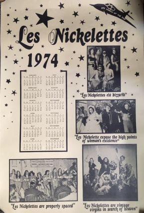 LES NICKELETTES 1974 [Poster Calendar