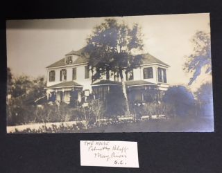 Gilded Age European Tour Photograph Album]. South Carolina, Postbellum Plantation