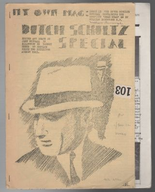 MY OWN MAG - Issue 13: The Dutch Schultz Special (August 1965