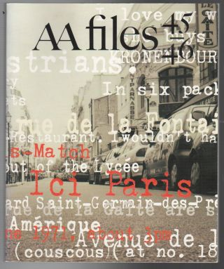 AA FILES No. 45/46 Winter 2001