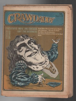 CRAWDADDY: Issue 13 / June 11, 1972