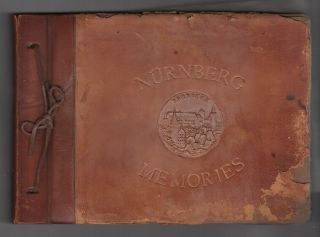 NURNBERG MEMORIES [Cover Title - Photo Album of an African American Soldier Stationed in...