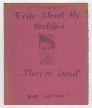 WRITE ABOUT MY BUDDIES...THEY'RE DEAD: Commemorating the Death of Stephen Wilson. Jerry YOUNKINS